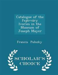 Catalogue of the Fejervary Ivories in the Museum of Joseph Mayer - Scholar's Choice Edition