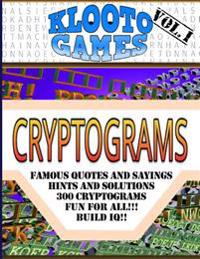Klooto Games Cryptograms: Volume I