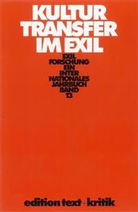 Exilforschung 13. Kulturtransfer im Exil