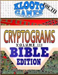 Klooto Games Cryptograms Vol. III: Bible Edition