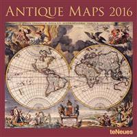 Antique Maps 2016 Calendar