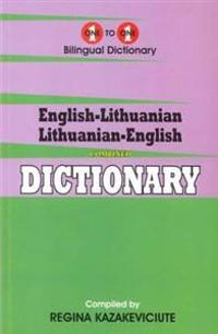 English-LithuanianLithuanian-English One-to-One Dictionary