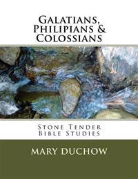 Galatians, Philippians & Colossians: Stone Tender Bible Studies