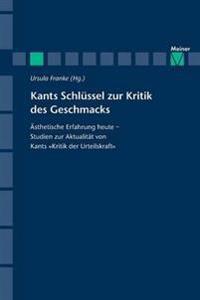 Kants Schlussel Zur Kritik Des Geschmacks