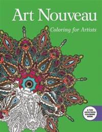 Art Nouveau Adult Coloring Book