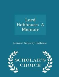 Lord Hobhouse