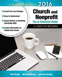 Zondervan Church and Nonprofit Tax and Financial Guide 2016