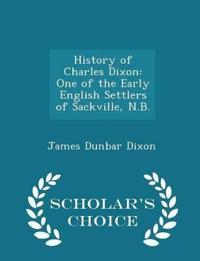 History of Charles Dixon
