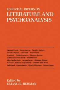 Essential Papers on Literature and Psychoanalysis