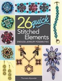 26 Quick Stitched Elements