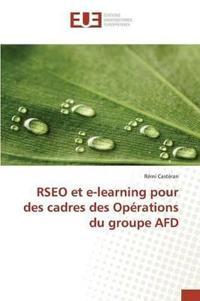 Rseo Et E-Learning Pour Des Cadres Des Op�rations Du Groupe Afd