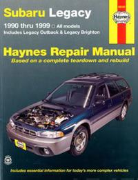 Subaru Legacy Automotive Repair Manual