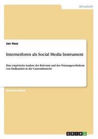 Internetforen ALS Social Media Instrument