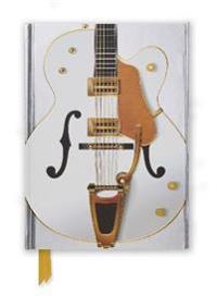 Gretsch White Guitar Foiled Journal
