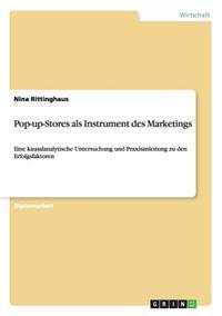 Pop-Up-Stores ALS Instrument Des Marketings