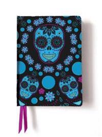 Blue Skulls Contemporary Foiled Journal