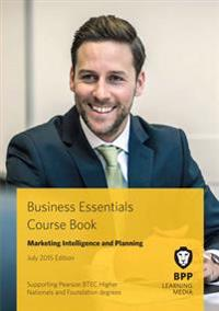 Business Essentials Marketing Intelligence and Planning