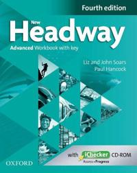 New Headway: Advanced C1: Workbook + iChecker with Key