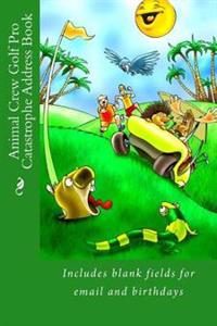 Animal Crew Golf Pro Catastrophe Address Book