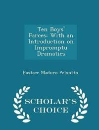 Ten Boys' Farces