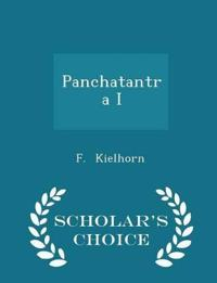 Panchatantra I - Scholar's Choice Edition