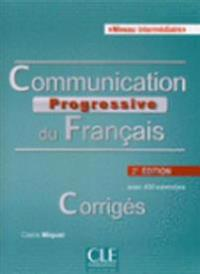 Communication Progressive du Francais Corriges Niveau intermediaire