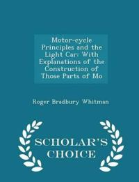 Motor-Cycle Principles and the Light Car