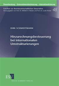 Hinzurechnungsbesteuerung bei internationalen Umstrukturierungen