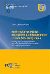Vermeidung von Doppelbesteuerung bei internationalen Erb- und Schenkungsfällen