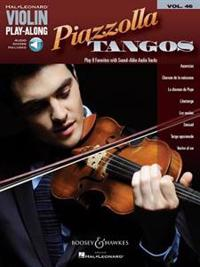 Piazzolla Tangos: Violin Play-Along Volume 46