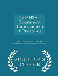 Samhsa's Treatment Improvement Protocols - Scholar's Choice Edition