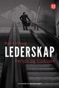 Lederskap; person og funksjon