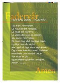 Fader vår. Herrens bønn. Plakat -  pdf epub