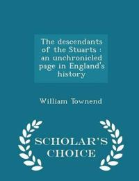 The Descendants of the Stuarts