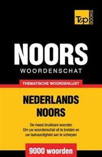 Thematische Woordenschat Nederlands-Noors - 9000 Woorden