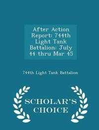 After Action Report