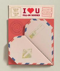 I Heart You: 2 Fill-In Books (1 for You, 1 for Me)