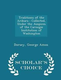 Traditions of the Arikara