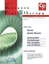 European Psychotherapy Vol. 8