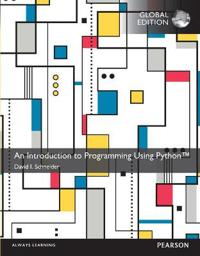 An Introduction to Programming Using Python, Global Edition