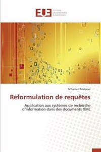Reformulation de Requaates