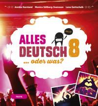 Alles Deutsch 8 Textbok - Tyska för högstadiet