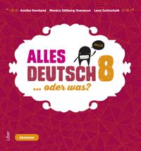 Alles Deutsch 8 Övningsbok - Tyska för högstadiet