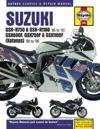 Suzuki GSX-R750 & GSX-R1100, GSX600F, GSX750F & GSX1100F (Katanas) (86 - 96)