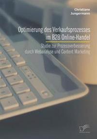 Optimierung Des Verkaufsprozesses Im B2B Online-Handel