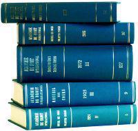 Recueil Des Cours, Collected Courses, 1934