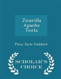 Jicarilla Apache Texts - Scholar's Choice Edition