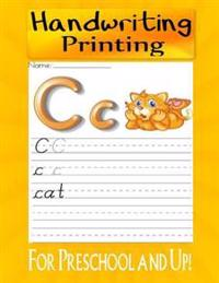 Handwriting: Printing for Preschool and Up