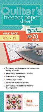 Quilter's Freezer Paper Sheets, Bulk Pack