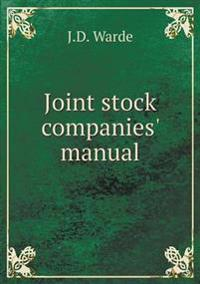 Joint Stock Companies' Manual